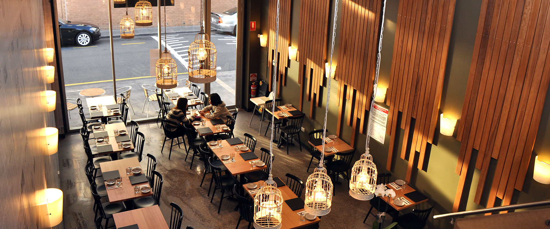Restaurant Interior Fitout in Field St Adelaide